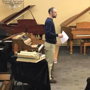 Piano Touch and Tone. CMTA Presentation.